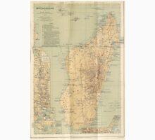 Vintage Map of Madagascar (1896) Unisex T-Shirt