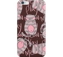 Meow Play With Me. iPhone Case/Skin