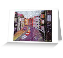 Amsterdam Canal Scene Greeting Card