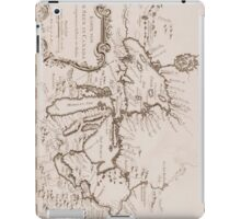 Vintage Map of The Great Lakes (1757) iPad Case/Skin