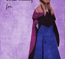 Frozen inspired design (Anna). by topshelf