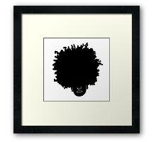 LBJ Back n' Blacker Framed Print