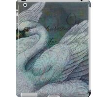 The Swan Also Rises iPad Case/Skin
