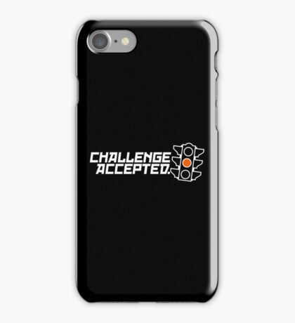 Challenge Accepted (2) iPhone Case/Skin
