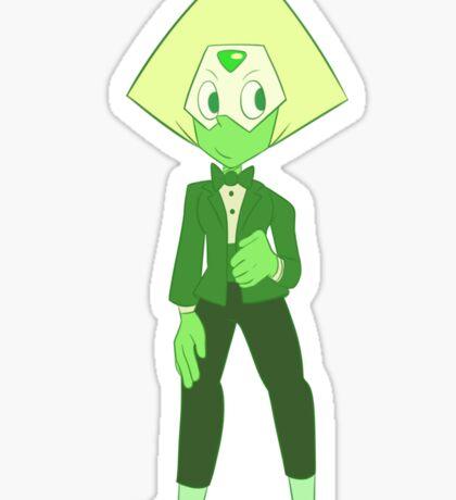 Peridot - Suit Sticker