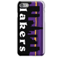 lakers iPhone Case/Skin