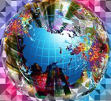 Globe by Vera Penkova