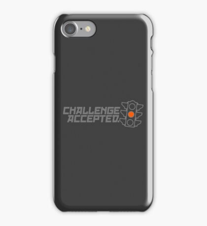 Challenge Accepted (3) iPhone Case/Skin