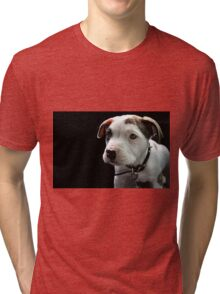 Pit Bull T-Bone Puppy Tri-blend T-Shirt