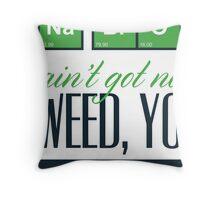 Weed Yo! Throw Pillow