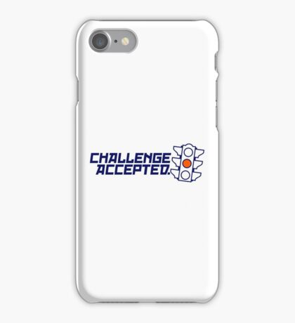 Challenge Accepted (4) iPhone Case/Skin