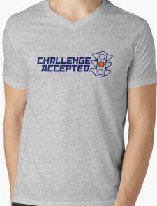 Challenge Accepted (4) Mens V-Neck T-Shirt