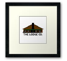 The Lodge Co. Framed Print