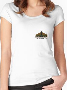 The Lodge Co. Women's Fitted Scoop T-Shirt