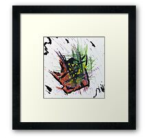 Concentrated Mass Framed Print