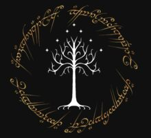 Ringed White Tree of Gondor by MapleGLaDOS