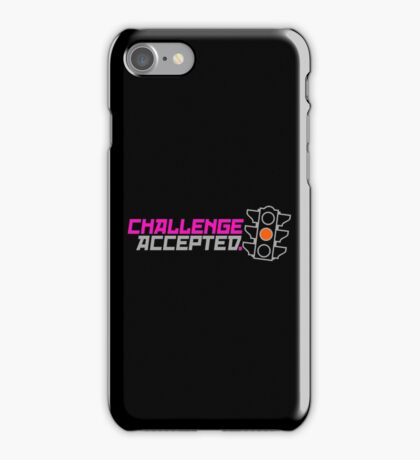 Challenge Accepted (5) iPhone Case/Skin