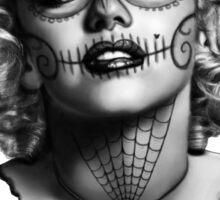 Marilyn Monroe Sugar Skull Sticker