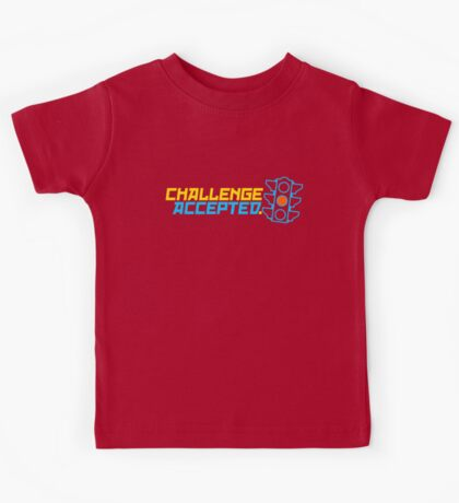 Challenge Accepted (7) Kids Tee