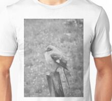 The Bird Black and White Unisex T-Shirt