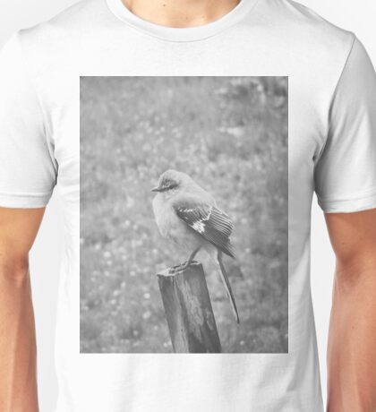 The Bird Black and White Unisex T-Shirt