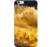 Golden Thunderhead iPhone Case/Skin