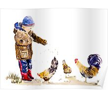 Chicken Feed Poster