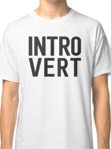 Introvert bold print Classic T-Shirt
