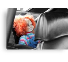 Backseat Driver Canvas Print