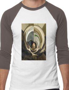 Travel Time Girl Men's Baseball ¾ T-Shirt