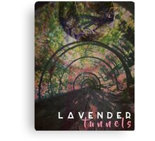 Lavender Tunnels Canvas Print