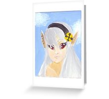 Female Corrin Fire Emblem Fates Greeting Card