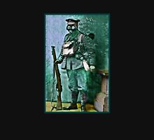 Infantry Soldier in Full Gear Portrait Unisex T-Shirt