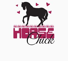 Horse Chick Womens Fitted T-Shirt
