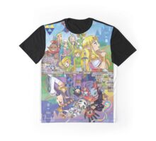A Link Between Worlds - Reflection Graphic T-Shirt
