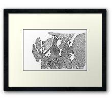 Giant tree overlook Framed Print