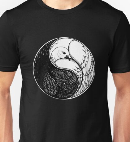 Raven and Dove Unisex T-Shirt