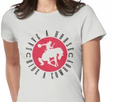 save a horse, ride a cowboy Womens Fitted T-Shirt