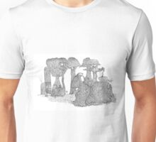 Over the seas and faraway Unisex T-Shirt