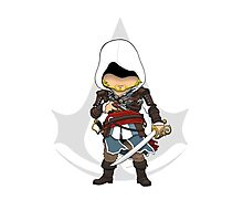 Assassin's Creed 4: Black Flag Edward Kenway Chibi Photographic Print