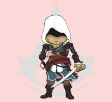 Assassin's Creed 4: Black Flag Edward Kenway Chibi Kids Clothes