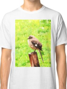 The Bird Painting  Classic T-Shirt