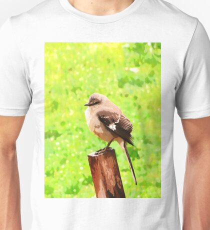 The Bird Painting  Unisex T-Shirt