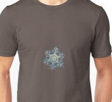Snowflake photo - Iron crown Unisex T-Shirt
