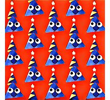 Fun,triangles,red,blue,yellow,white,kid,kids,pattern,happy Photographic Print