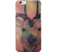 The bloody stag iPhone Case/Skin
