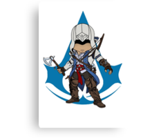 Connor Kenway Chibi: Assassin's Creed 3 Canvas Print