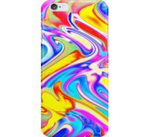 A Trendy Splash of Swirled Watercolor iPhone Case/Skin