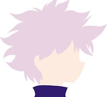 Minimalistic Killua (Hunter x Hunter) by BK4REVENGE