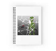 Death by Alien Spiral Notebook